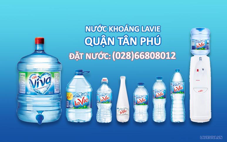 Nước khoáng LaVie quận Tân Phú