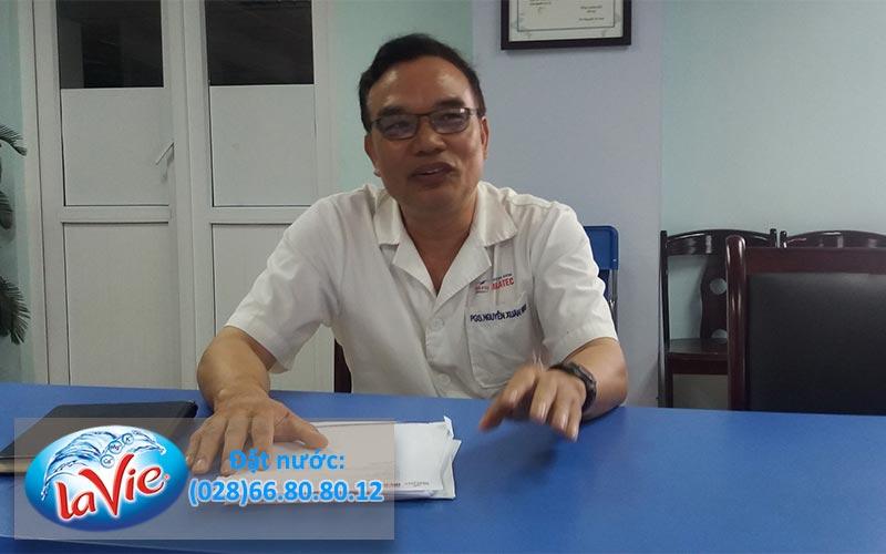 Nước khoáng thiên nhiên hàm lượng thấp - Nguyễn Xuân Ninh