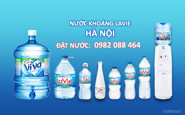Nước khoáng LaVie Hà Nội